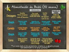¡Alimentación de bebé! (10 meses) Toddler Meals, Kids Meals, Baby Dresser, Baby Cooking, Baby Eating, Homemade Baby Foods, Baby Led Weaning, Baby On The Way, Baby Hacks