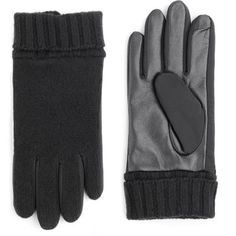 Echo Design Men's Knit Mix Echo-Touch Gloves