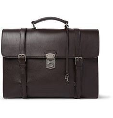 892cb7c7b6 Dolce   Gabbana - Siracusa Grained-Leather Briefcase Dolce And Gabbana Man