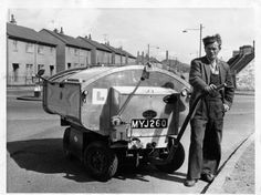 Nostalgia: Street sweepers keeping Dundee clean - Evening Telegraph Road Sweeper, Old Lorries, Young Lad, Old Street, Old London, Dundee, Old Trucks, Good Old, Old Photos