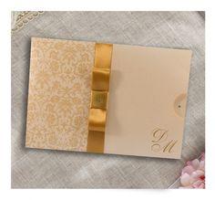 Convite de Casamento Elegante e Tradicional.