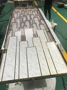 Modern Design Laser Cut Partition Screen Restaurant Wall Panel Screen Marble Screen - China Metal Screen and Room Divider price | Made-in-China.com Folding Partition, Folding Screen Room Divider, Partition Screen, Room Divider Walls, Room Screen, Stainless Steel Sheet Metal, Stainless Steel Screen, Laser Cut Screens, Laser Cut Panels