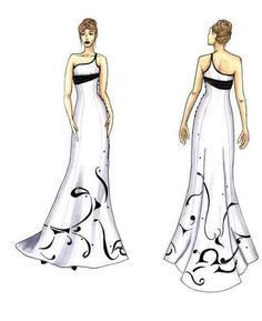 How To Do Fashion Design Sketches How to do Fashion Sketching