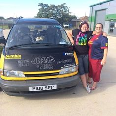 After months of planning, Jenna and Jess collected their bumble bus camper this morning for an adventure around Europe!