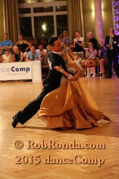 golden and begie tan latin ballroom dress with white pearl accesories