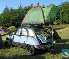 Air Camping 2CV