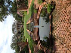 Longue Vue Gardens water feature