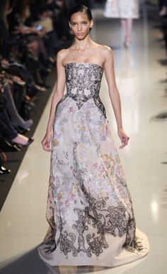Lebanese designer Elie Saab Couture Spring/Summer 2013 High Fashion Haute Couture glamour Elie Saab Couture