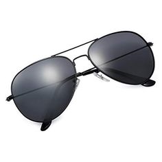 e05b04de7cb Yveser Gafas de Sol UV400 polarizadas para Hombres y Mujeres Yv3025 (Lente  Negro Marco