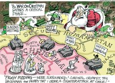 Cartoonists on the Front Lines of the War on Christmas