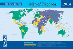 People Are Less Free for the 8th Straight Year, Report of Freedom House finds.