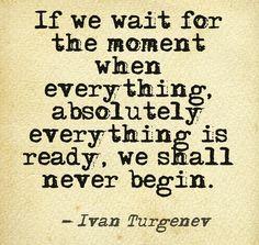 #readiness #inspiration