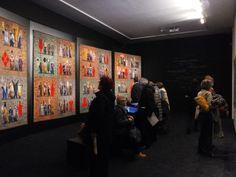 """Inaugurazione mostra """"Grisha Bruskin. Alefbet: alfabeto della memoria"""". #grishabruskin #querinistampalia #exhibition #russianart #contemporaryart"""