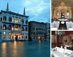 Sited on the Grand Canal, the just opened Palazzo Papadopoli-turned-Aman-resort looks hands-down insane: Built in the century, it's sur. Honeymoon Spots, Best Vacation Spots, Vacation Destinations, Vacation Ideas, Italy Holidays, Beautiful Hotels, Beautiful Places, Best Hotels, Luxury Hotels