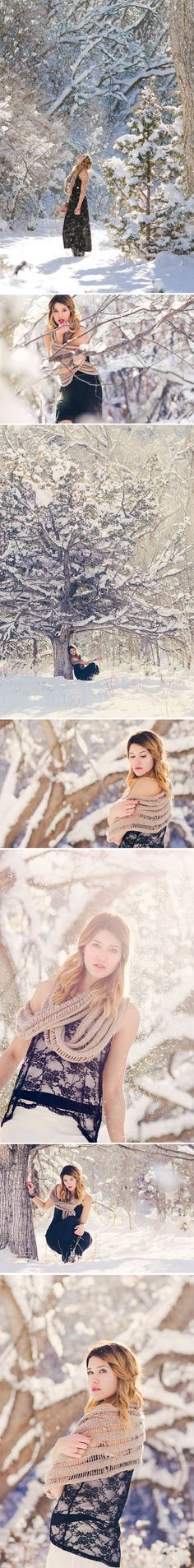 I love this. I get so stuck with posing when there's snow everywhere, but this provided some great ideas to start with.