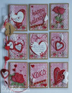 Cards made by Wybrich