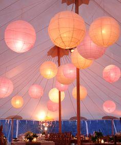 Japanese Lanterns | Sperry Tents Hamptons