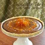 Chocolate Tart with Salted Caramel