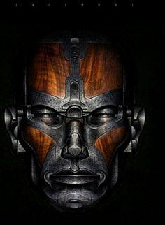 Science Fiction, Arte Cyberpunk, Maquillage Halloween, Airbrush Art, Sci Fi Art, Conceptual Art, Dieselpunk, Cover Art, Futuristic