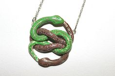 Pendant AURYN green brown The Neverending Story by Veruness on Etsy