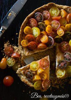 Cheesecake salado con tomates   Cocinar en casa es facilisimo.com