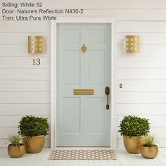 Ideas exterior paint colora for house behr curb appeal Entry Doors, Entrance, Front Doors, Garage Doors, Ideas Cabaña, Door Ideas, Behr Colors, Front Door Colors, Paint Colors For Home