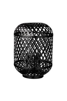 Day Home Lysestage Bamboo Lantern w/Glass Insert