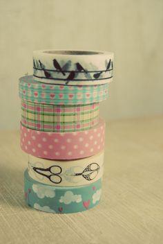Washi tape and cardboard tutorial Washi Tape Storage, Washi Tape Crafts, Paper Crafts, Washi Tapes, Tapas, Filofax, Cinta Washi, Handmade Crafts, Diy Crafts