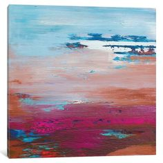 East Urban Home 'In the Pale Sky' Painting Print on Canvas Size: