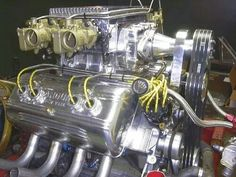 Blown Flathead Hemi Engine, Motor Engine, Car Engine, Live For Speed, Bone Stock, Ford Sierra, Race Engines, Combustion Engine, Garage Art