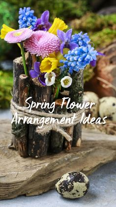 Spring Projects, Spring Crafts, Projects To Try, Love Flowers, Spring Flowers, Beautiful Flowers, Spring Flower Arrangements, Floral Arrangements, Diy Arts And Crafts