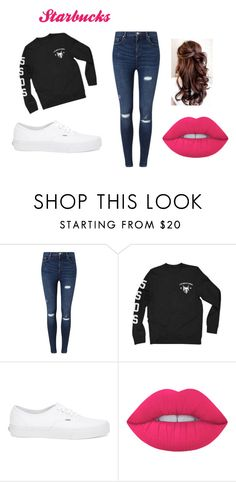 """""""outfit #8 (story)"""" by ash-237 on Polyvore featuring Miss Selfridge, Vans and Lime Crime"""