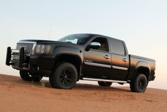 gmc sierra 1500 leveled