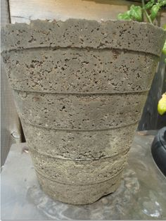 Hypertufa Planters