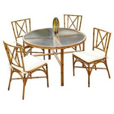 5 Piece Banyan Indoor/Outdoor Dining Set