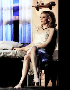Cate Blanchett in A Streetcar Named Desire
