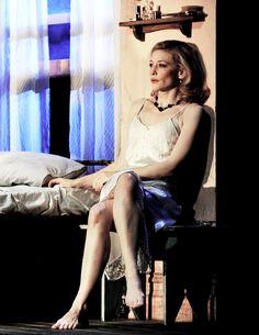 Cate Blanchett in A Streetcar Named Desire