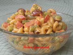 Salade de macaronis crémeuse / Bedon Gourmand