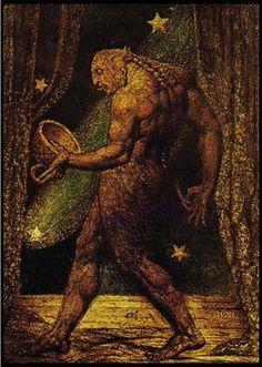 """Fantasma de una pulga"". William Blake, 1820."