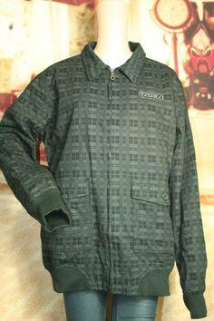 e7969983d82 Mens Ezekial jacket zip front plaid size XL Style EJ093169Y  Ezekiel   BasicJacket Plaid Jacket