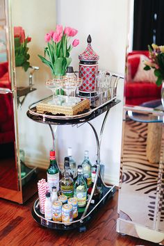 BAR CARTS: the entertaing essential | Sea of Shoes