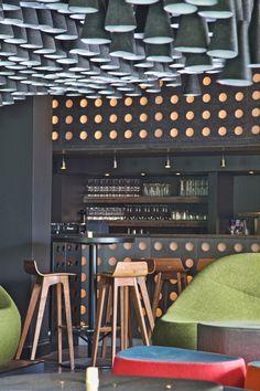 Pintxos Lounge Bar, Kuwait City designed by PS Studio