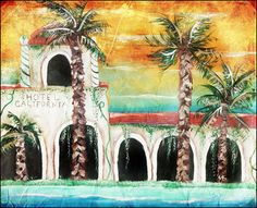 Hotel California Painting