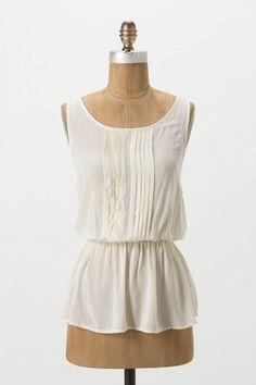 pintuck peplum blouse ++ vanessa virginia