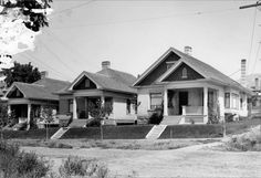 Callison houses on 3rd Avenue at T Street, 1906. Courtesy Utah State Historical Society