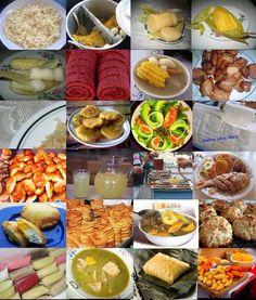 GASTRONOMÍA PANAMEÑA. A ver cuántos platos logran reconocer aquellos que han saboreado alguno de ellos...
