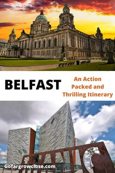 Belfast City Break With Teens: An Action Packed Itinerary - Go Far Grow Close Belfast Attractions, Belfast Restaurants, Belfast City, Belfast Titanic, Belfast Ireland, Galway Ireland, Cork Ireland, Europe Travel Guide, Amigurumi