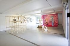 GAD Mobile Art Gallery, interior