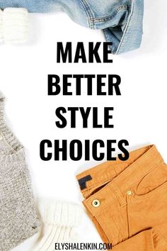 Are you choosy with your personal style? Do you make good decisions about what to wear, what clothes to let go in your closet cleanout and how to dress in a way that makes you look amazing? Because if you don't make good choices you will end up with clutter that dilutes your wardrobe and your outfit options. Get the style inspiration to help you make better choices in clothing so feel more confident in your life. Everyday Casual Outfits, Make Good Choices, Made Goods, You Look, Clutter, Confident, What To Wear, Your Style, Personal Style