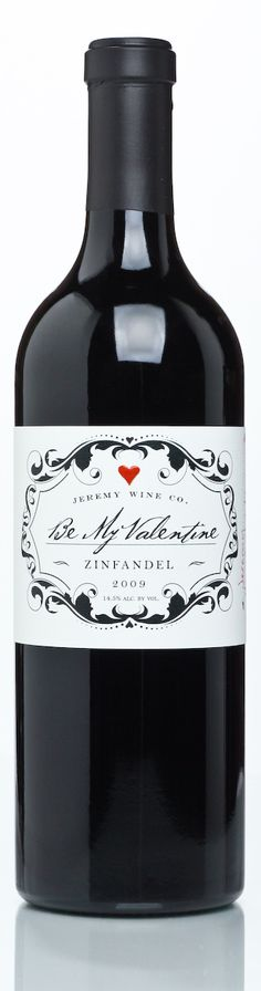 Jeremy Wine Company's #Valentine #wine #packaging to share with someone you love PD